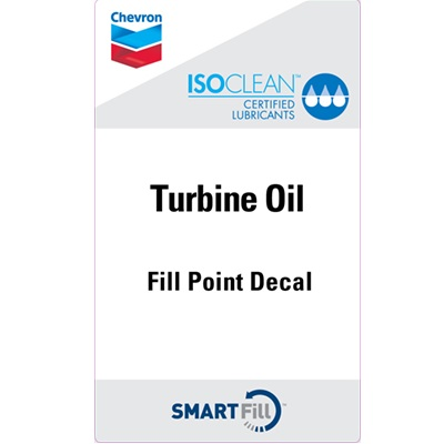 "ISOCLEAN Turbine Oil Decal - 3"" x 5"""
