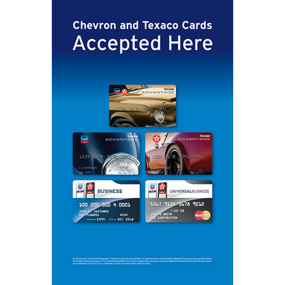 "Credit Card Exterior Poster - 28"" x 48"" (each)"