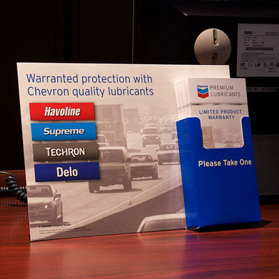 Chevron Product Warranty Kit