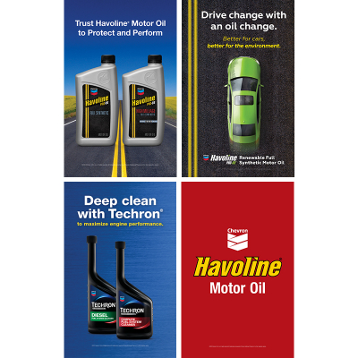 Havoline Exterior Products Poster Series