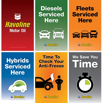 Havoline Exterior Services Poster Series