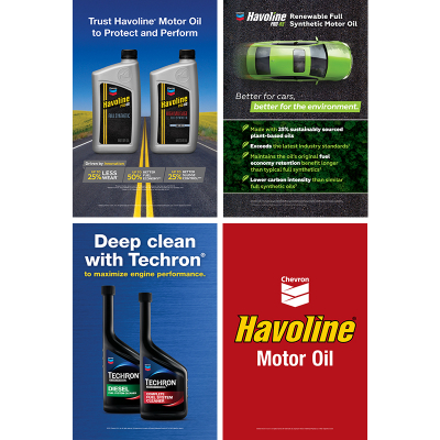 "Havoline Poster Series 2017 - 24"" x 36"" (set/2)"