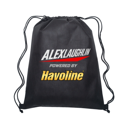 Laughlin Nylon Backpack - Black (set/12)